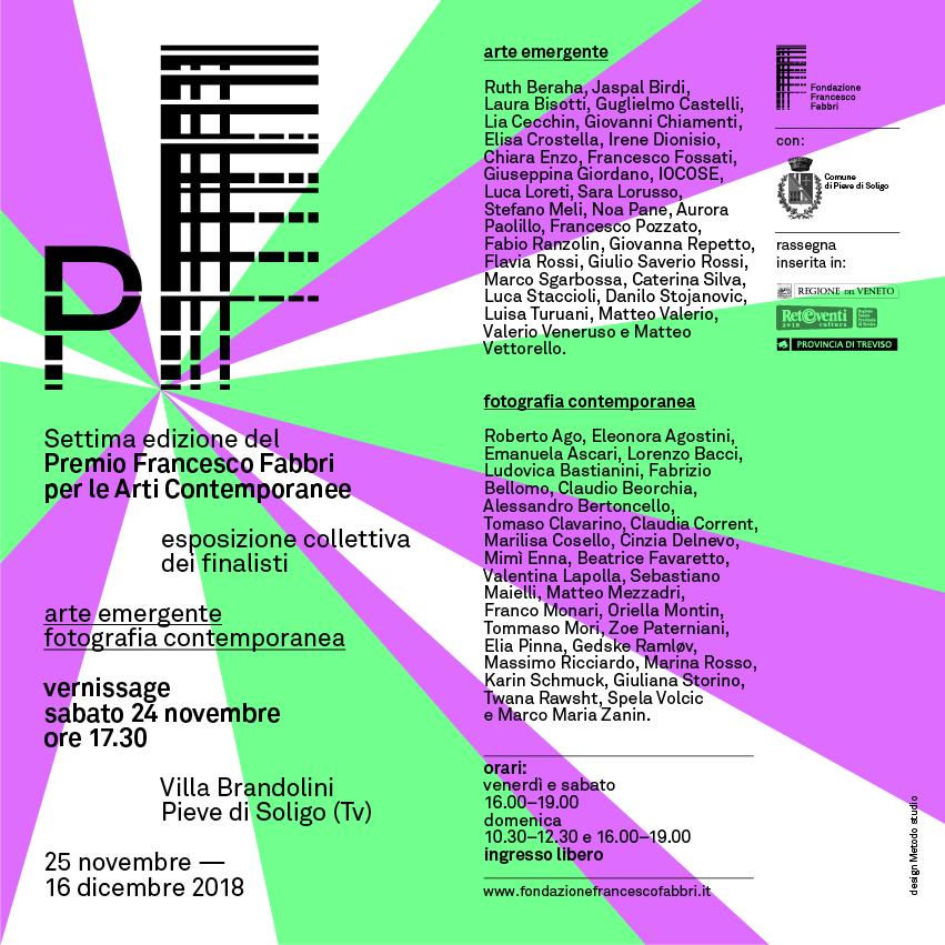 Finalisti Premio Fabbri 2018